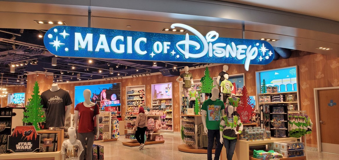 New Magic of Disney store coming to the Orlando Airport