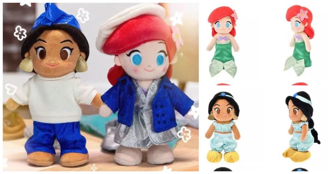 Fabulous New Disney Princess nuiMOs Coming Soon
