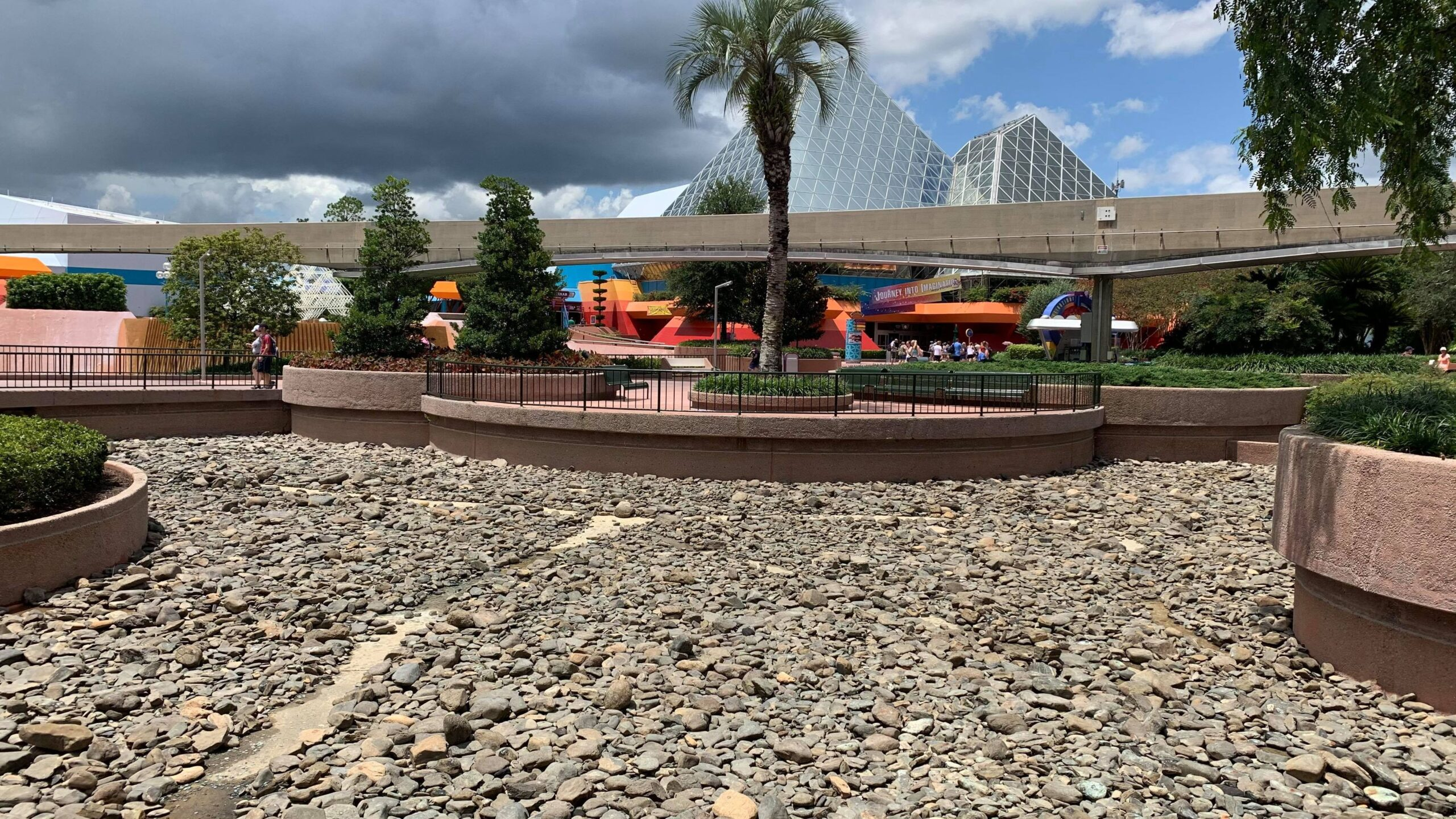 Epcot draining ponds as they prepare for Moana's Journey of Water 3
