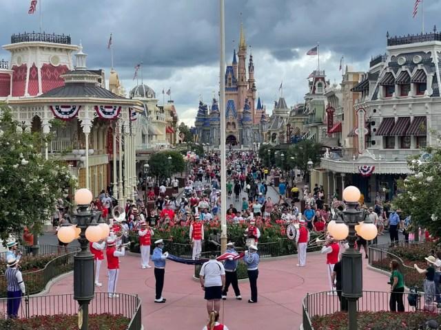 Flag Retreat Ceremonies return to Walt Disney World and Disneyland 1