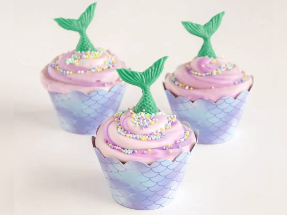 These Little Mermaid Cupcakes Have Us Flipping Our Fins With Happiness!
