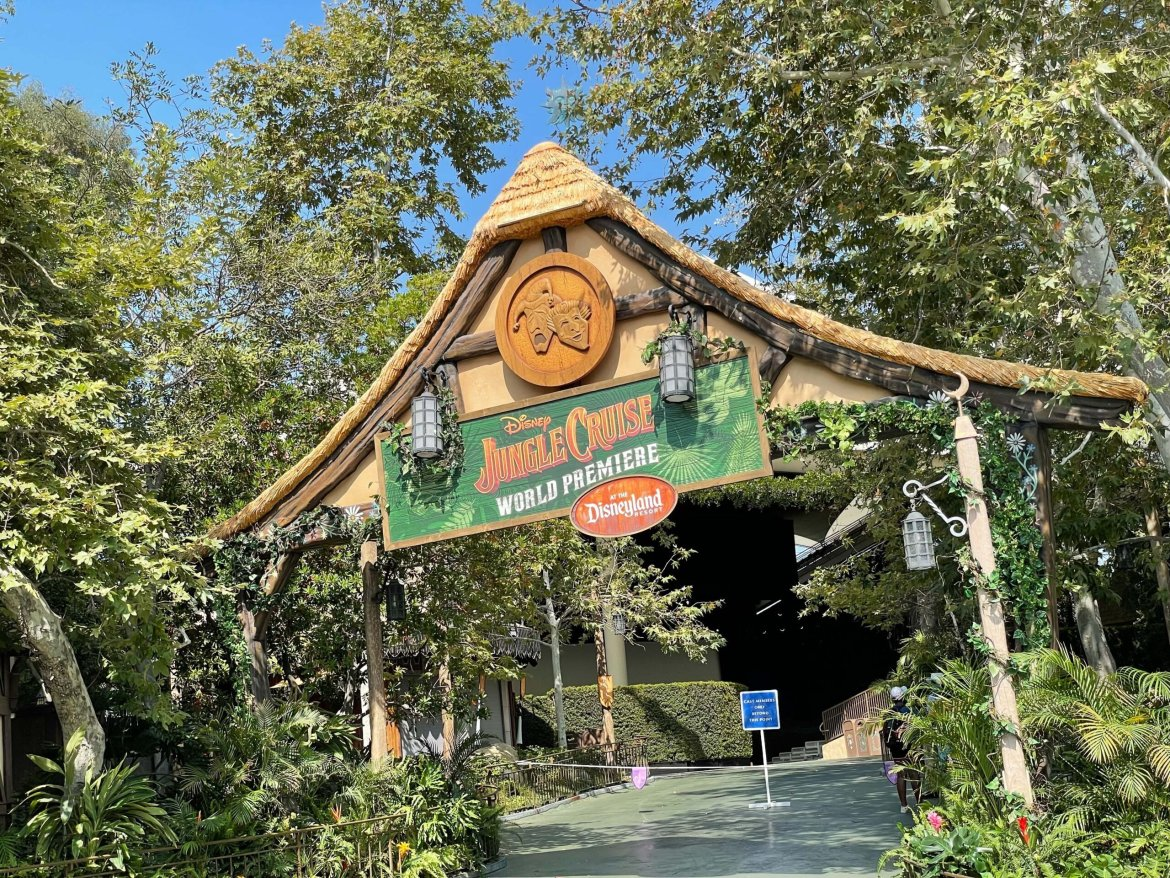Disney to host Live Stream from the Jungle Cruise World Premiere in Disneyland