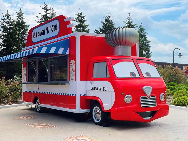 New Cars Laugh'n'Go Food Truck debuts at Disneyland Paris