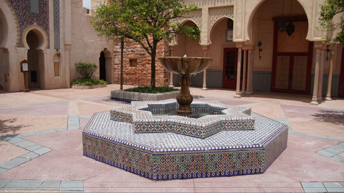 Morocco Pavilion Courtyard now open to guests in Epcot