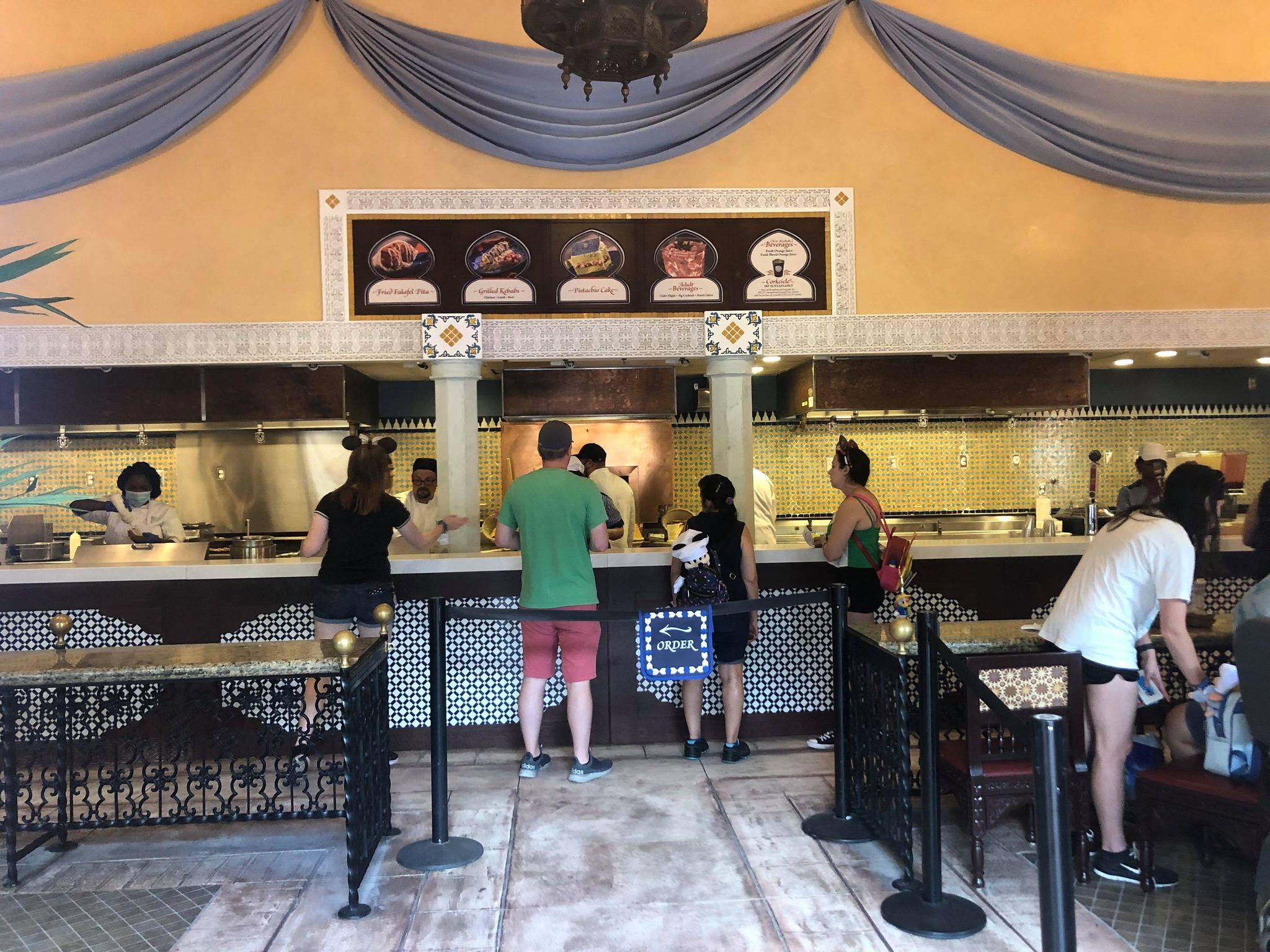 Tangierine Café: Flavors of the Medina Opens for Epcot Food & Wine Festival 7