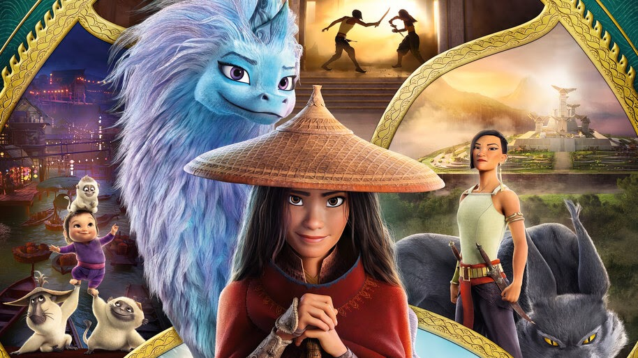 'Raya and the Last Dragon' Became the #1 Streaming Title After Disney+ Premier Access Run