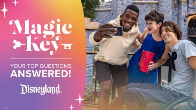 More details revealed for Disneyland Annual Passholder Program – Magic Key