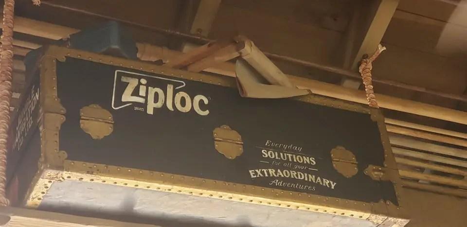 Ziploc is the new sponsor of Magic Kingdom's Jungle Cruise
