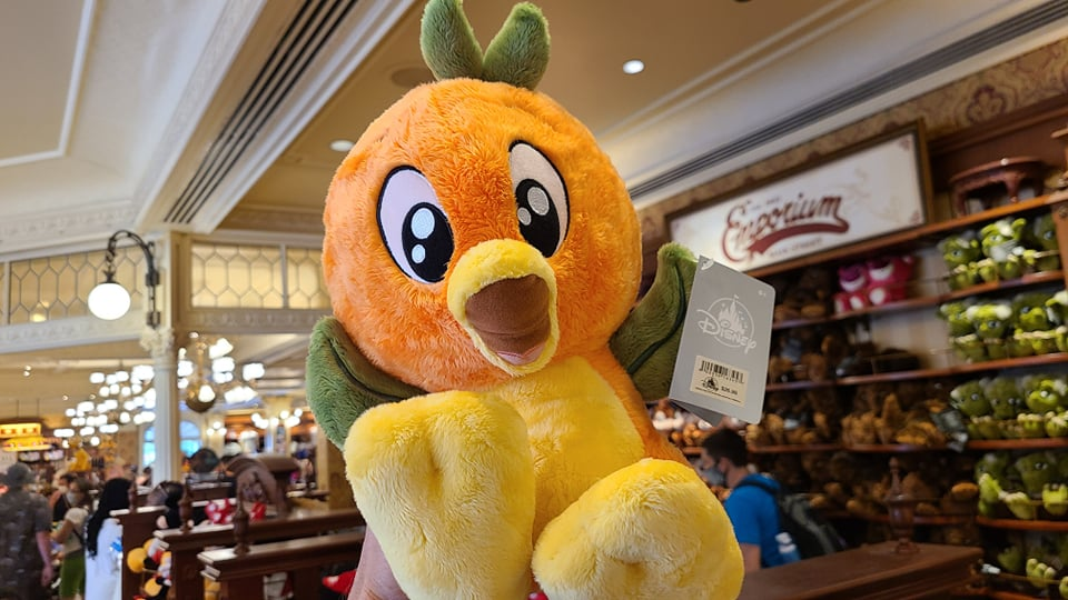 This Cuddly Orange Bird Plush Is The Cutest Thing Ever