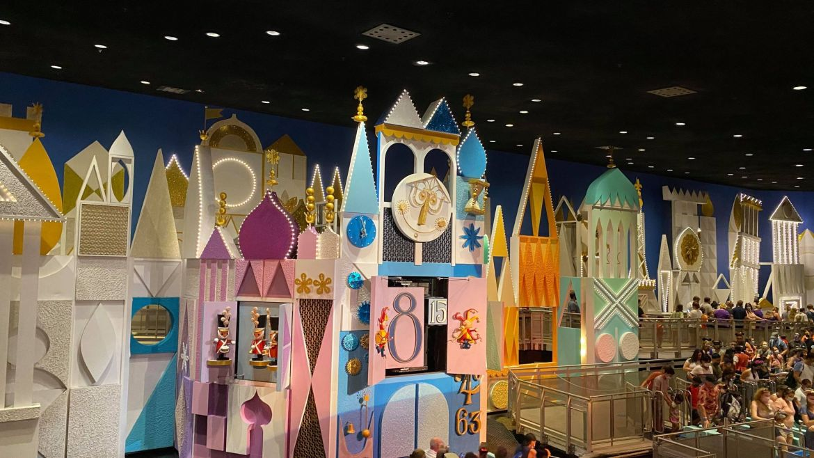 It's a Small World receiving a new paint job for Disney World's 50th Anniversary