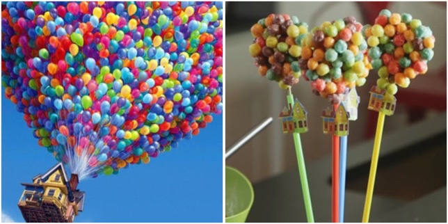 Up Balloon Bouquet Pops For A Fantastic Movie Night!