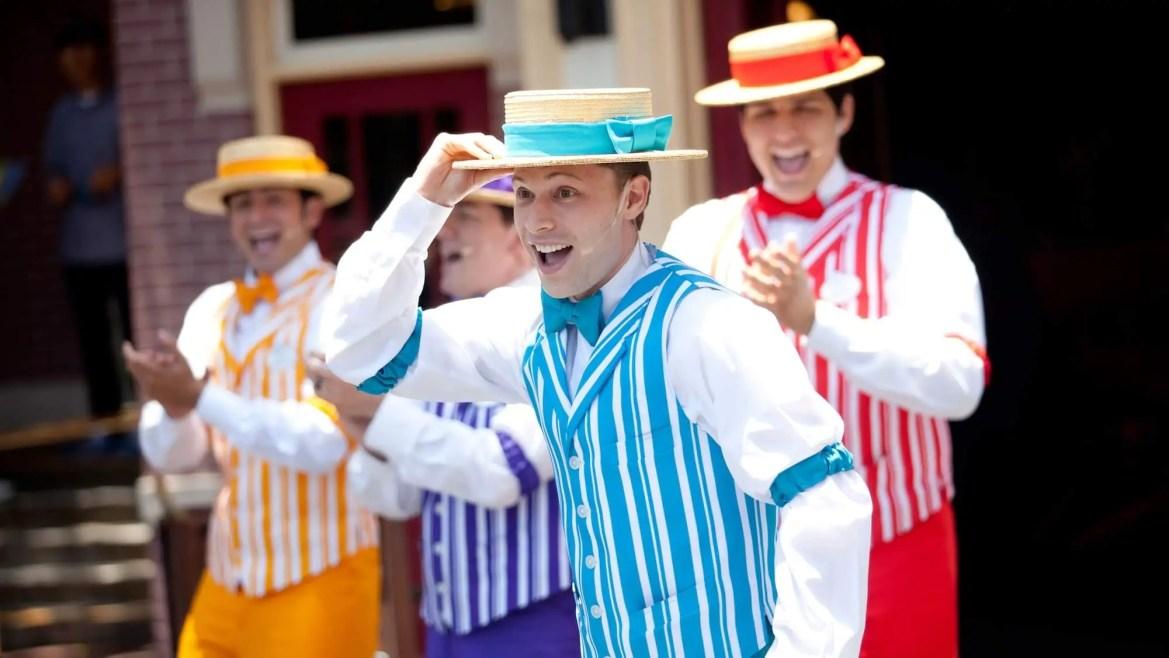 Dapper Dans are returning to Disneyland in September