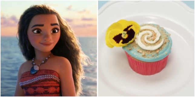 Make Way For These Delicious Moana Cupcakes!
