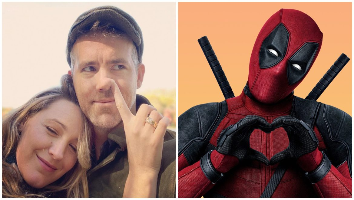 Ryan Reynolds Shares that Blake Lively Helped Write the Script for 'Deadpool'