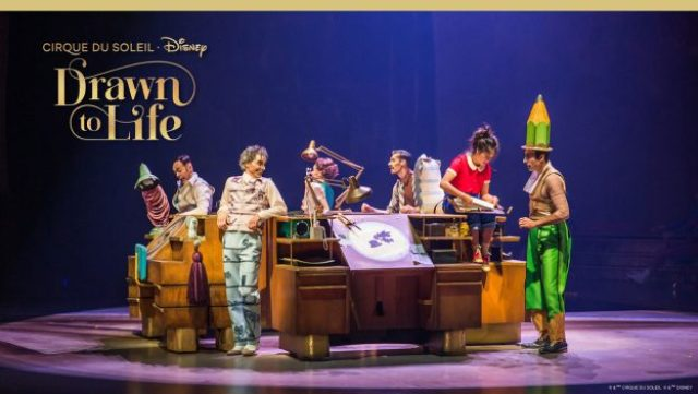 Tickets go on sale for Drawn to Life in Disney Springs on August 20th 1