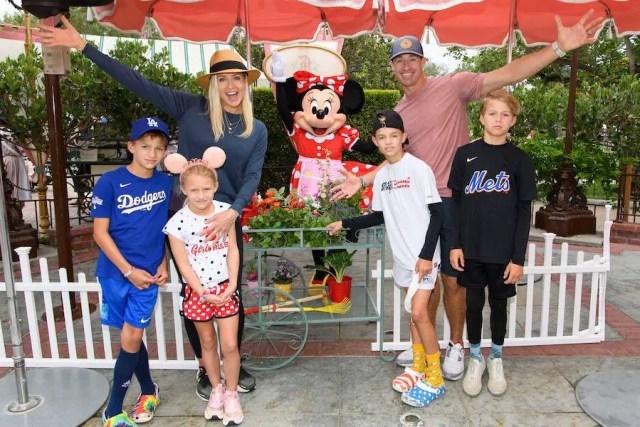 Drew Brees Celebrates His Daughter's Birthday at Disneyland 1