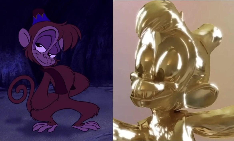 Abu from Disney's Aladdin the next Disney Fab 50 statue