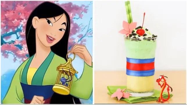 Mulan Milkshake Recipe To Celebrate World Princess Week!