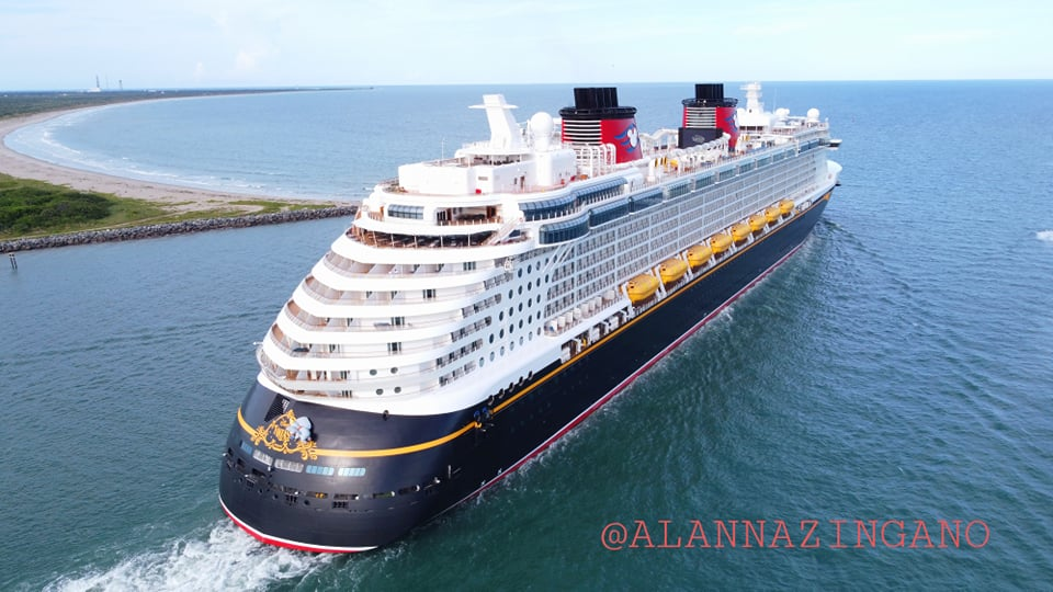 Disney Cruise Line returns to cruising today from Florida