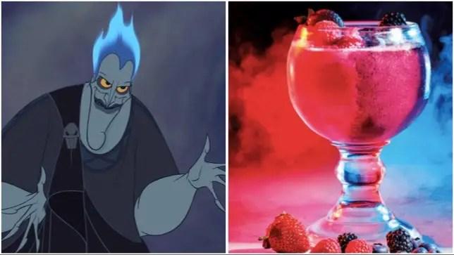 Devilishly Delicious Hades Underworld Smoothies!