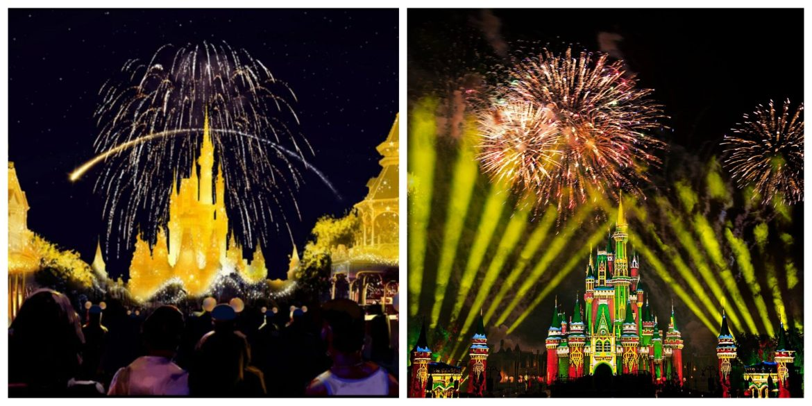You can see 2 different fireworks in one night at the Magic Kingdom