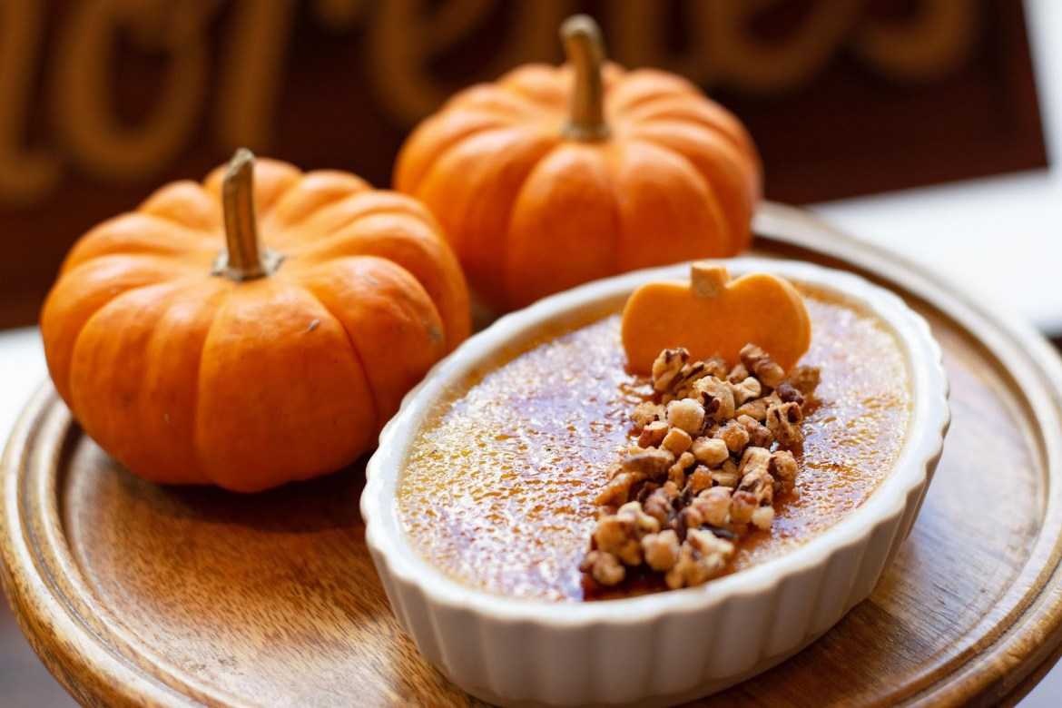 This Pumpkin Creme Brûlée Is The Perfect Fall Treat!