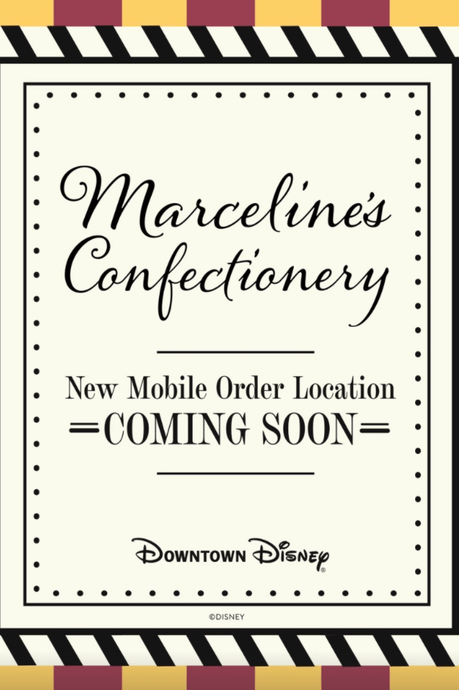 Disney Snacks and Treats coming to Disney's Mobile Order 3