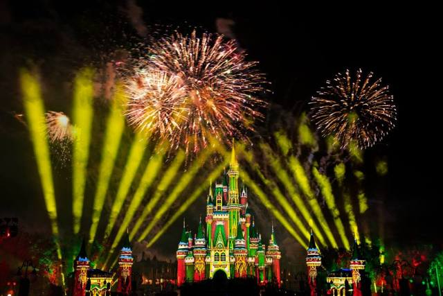 You can see 2 different fireworks in one night at the Magic Kingdom 3