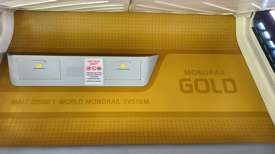 Monorail Gold is back in service after refurbishment