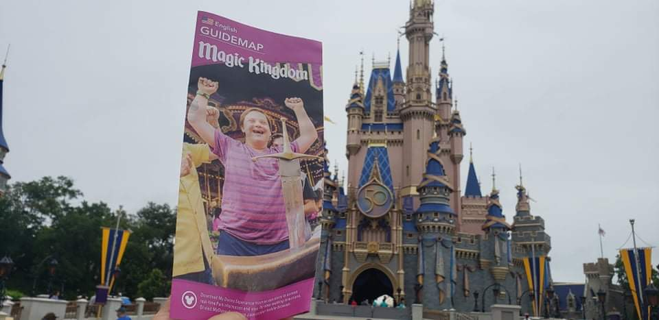 """Magic Kingdom's Park Map shows Disney World is """"A Place Where Everyone is Welcome"""""""