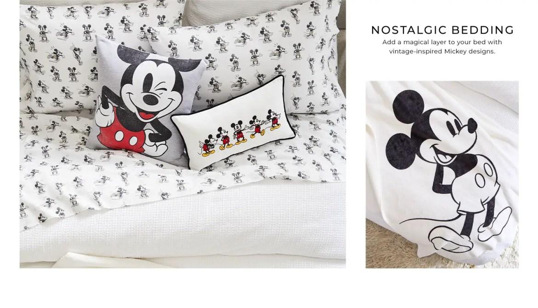 Nostalgic Pottery Barn Mickey Mouse Collection