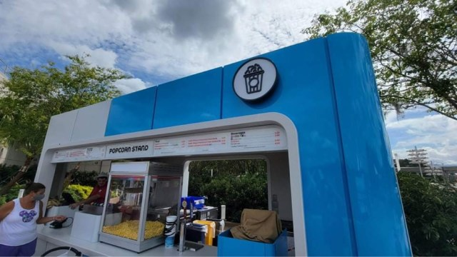 New Popcorn Stand is now open in Epcot 2