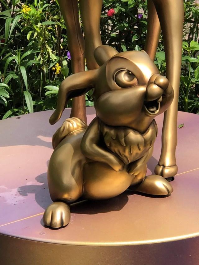 Disney Fab 50 statues now on display in Animal Kingdom 11