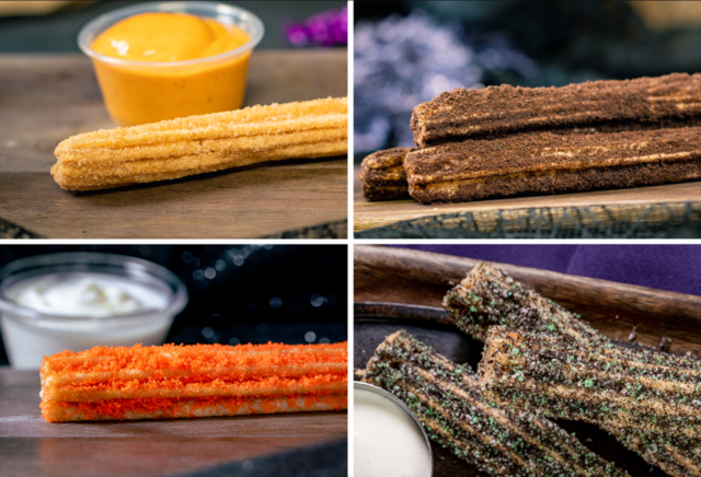 Check out these all new Halloween Churros at the Disneyland Resort 1