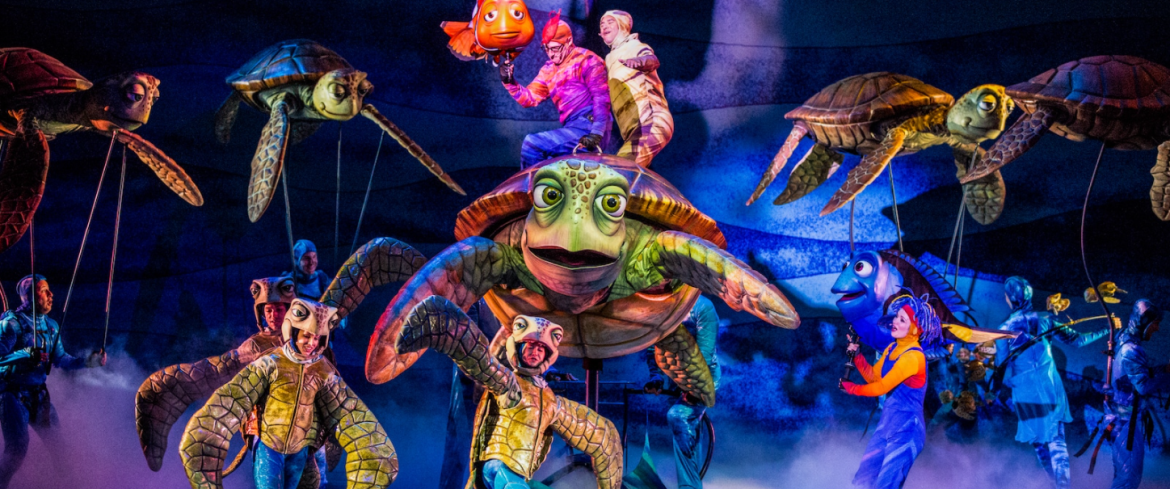 Original Finding Nemo the Musical will not be returning to Disney's Animal Kingdom