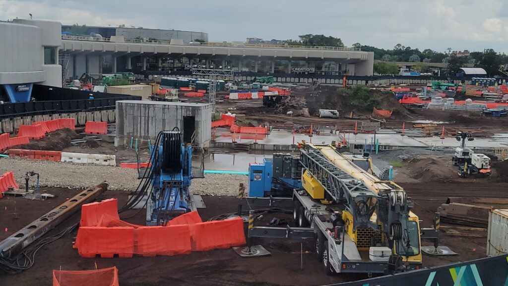 New Construction Photos of Moana Journey of Water & Guardians of the Galaxy: Cosmic Rewind 5