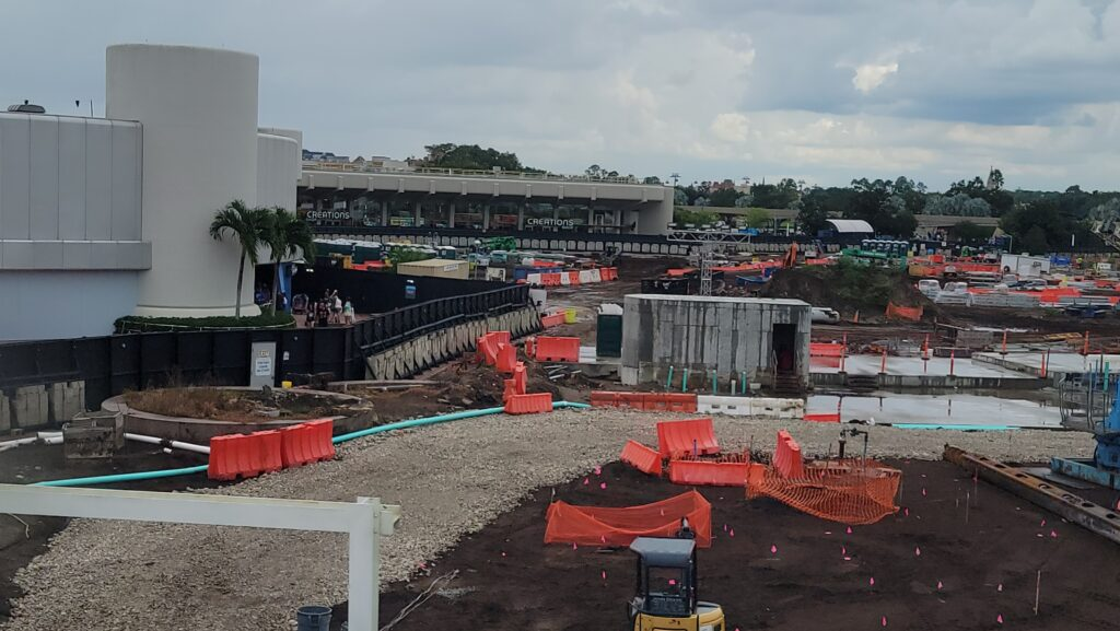 New Construction Photos of Moana Journey of Water & Guardians of the Galaxy: Cosmic Rewind 6