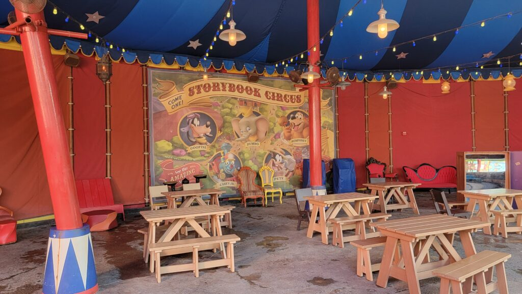 Storybook Circus tent refurbishment is now complete for 50th Anniversary 3