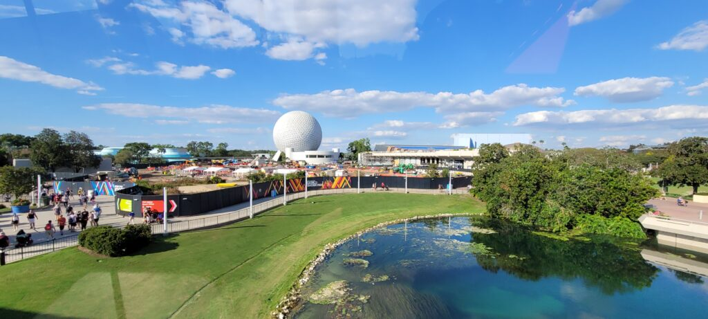 New Aerial look at the Construction around Epcot 3
