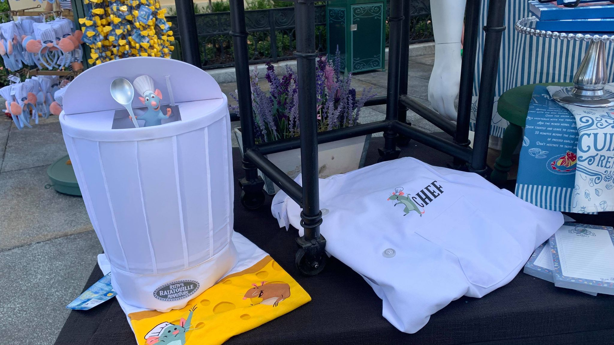 First look at the new Remy's Ratatouille Adventure line of merch coming soon! 11