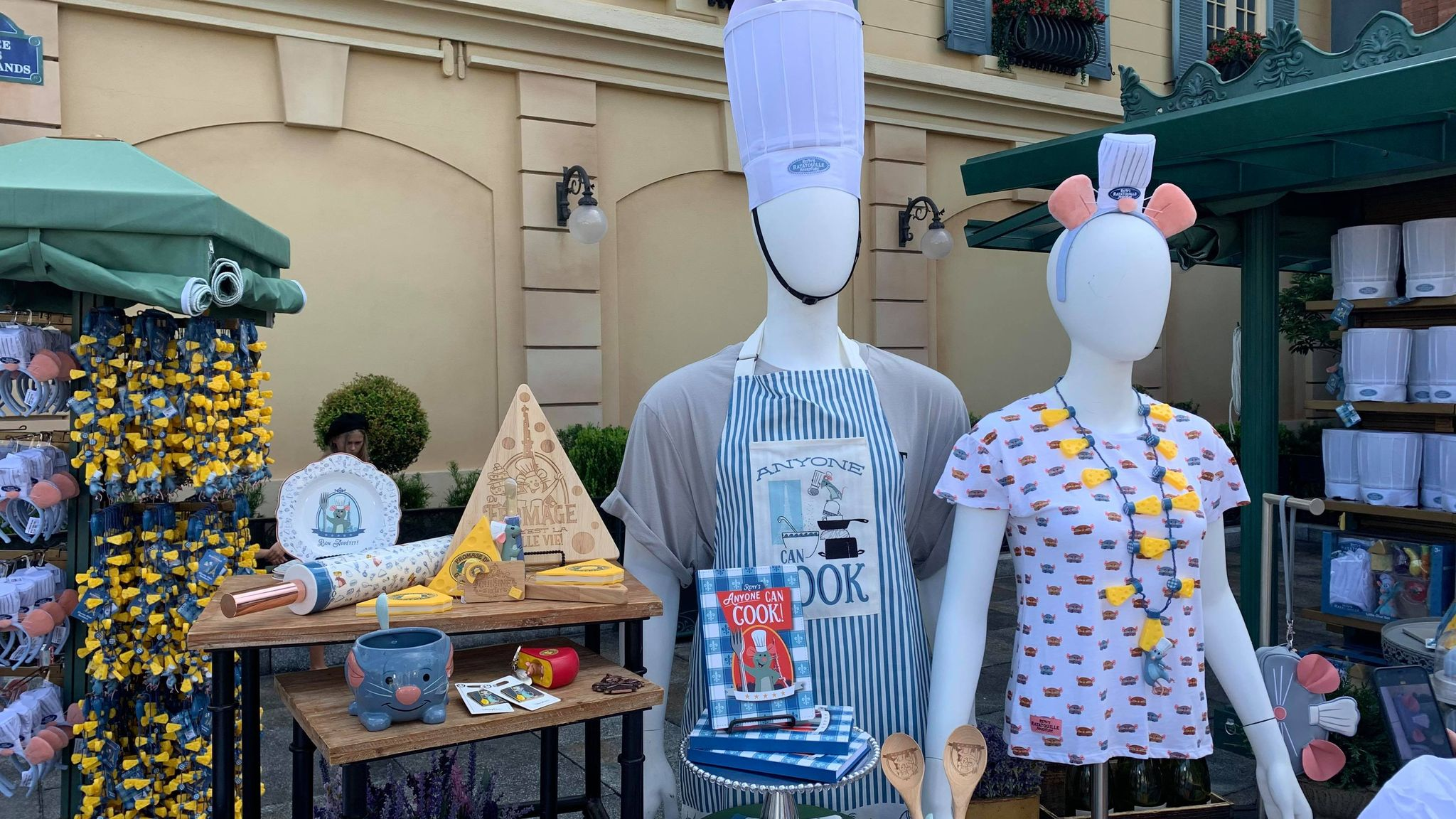 First look at the new Remy's Ratatouille Adventure line of merch coming soon! 12