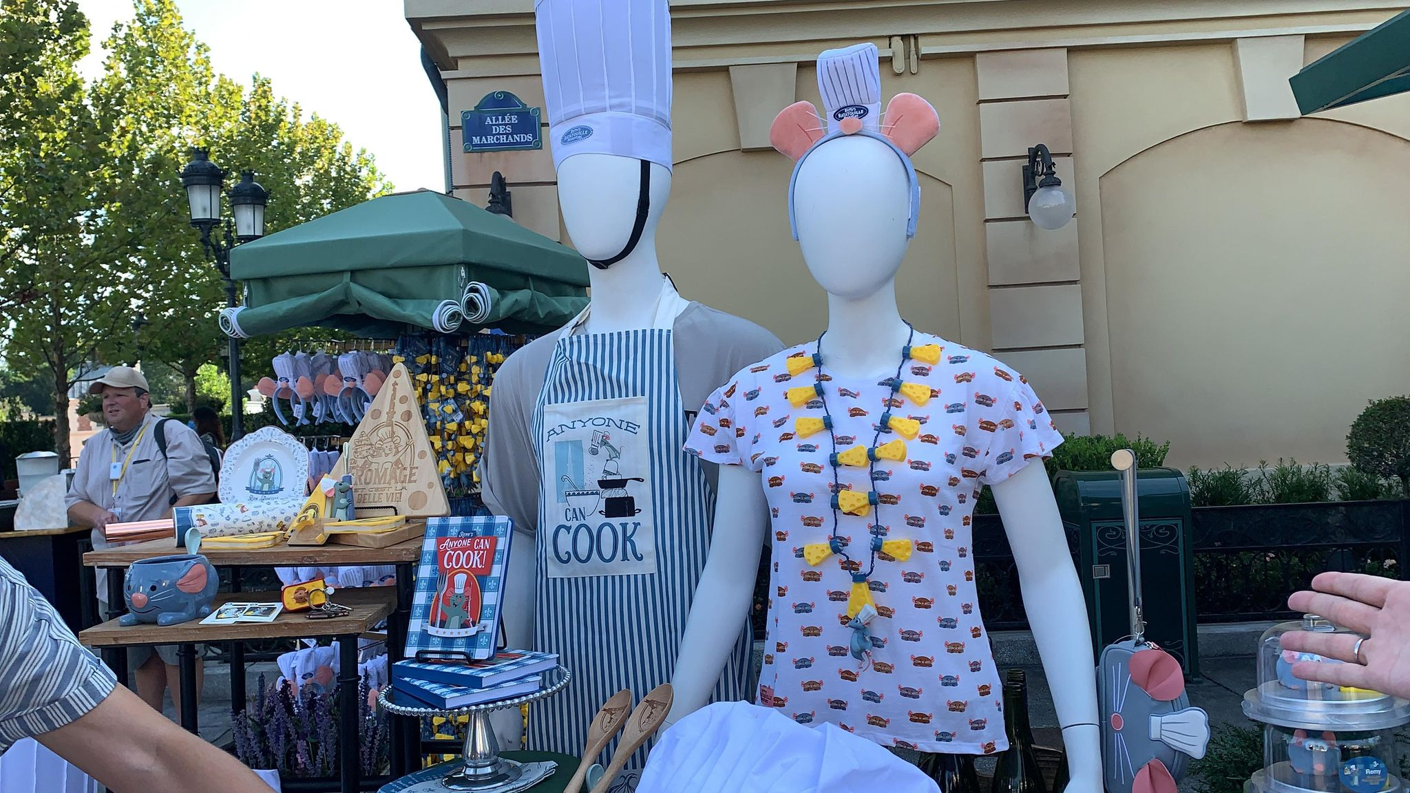 First look at the new Remy's Ratatouille Adventure line of merch coming soon! 3