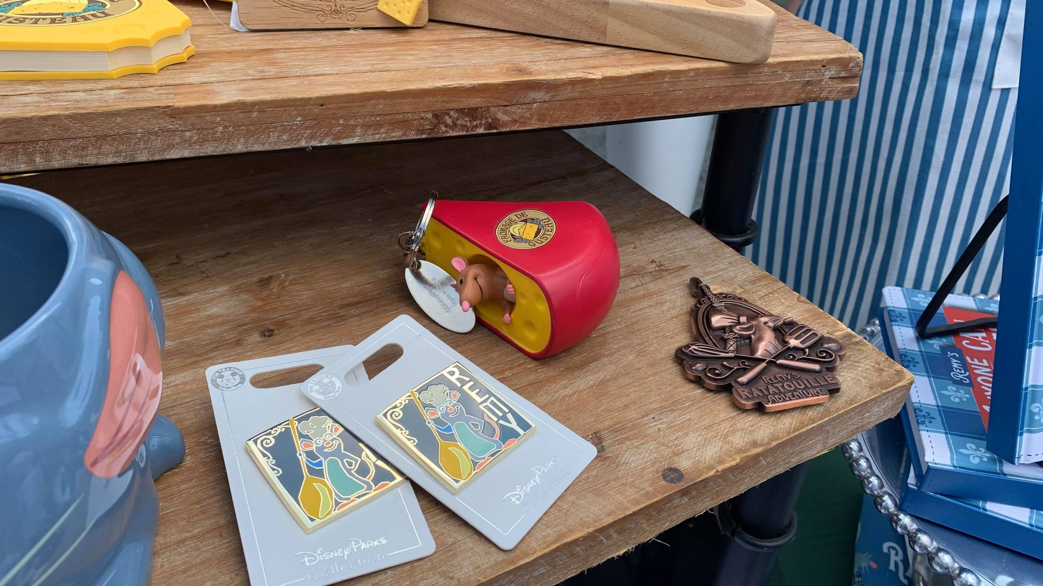 First look at the new Remy's Ratatouille Adventure line of merch coming soon! 9