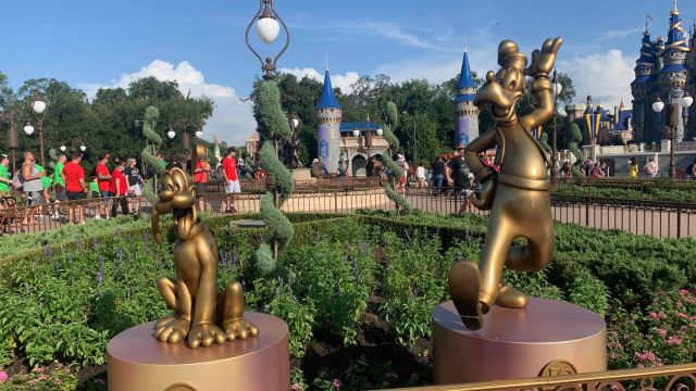 First Look: Disney Fab 50 statues now on display in the Magic Kingdom 2