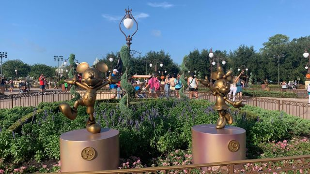 First Look: Disney Fab 50 statues now on display in the Magic Kingdom 1