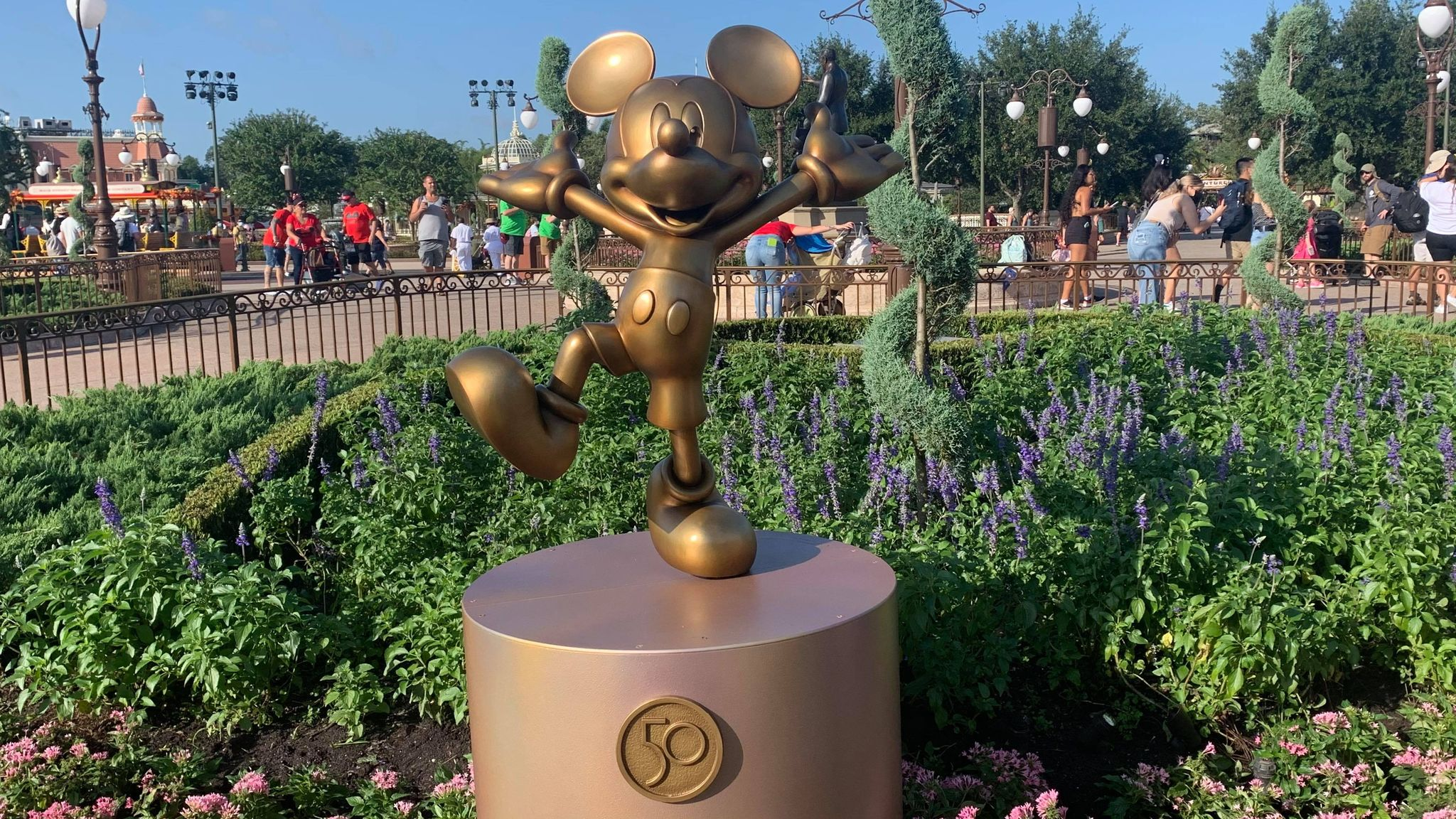 First Look: Disney Fab 50 statues now on display in the Magic Kingdom 24