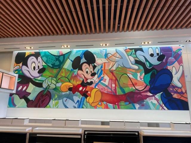 New Mickey Mural