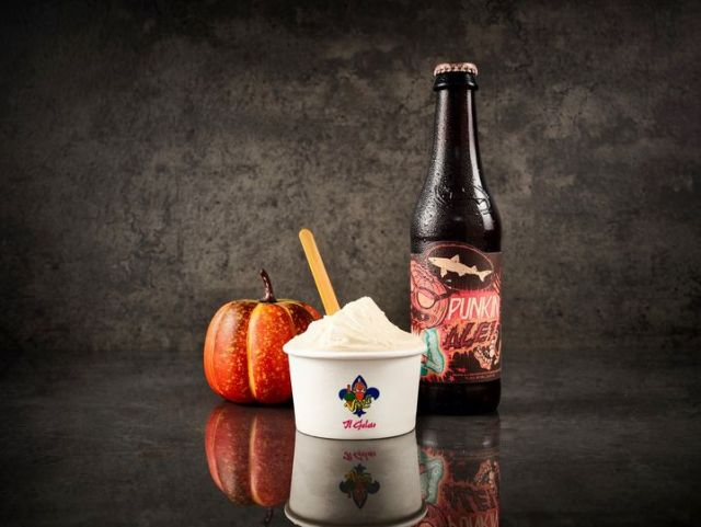 A new 21 and older Pumpkin Beer Gelato is now available in Disney Springs 1