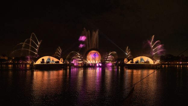 Behind the Scenes of New 'Harmonious' Nighttime Spectacular