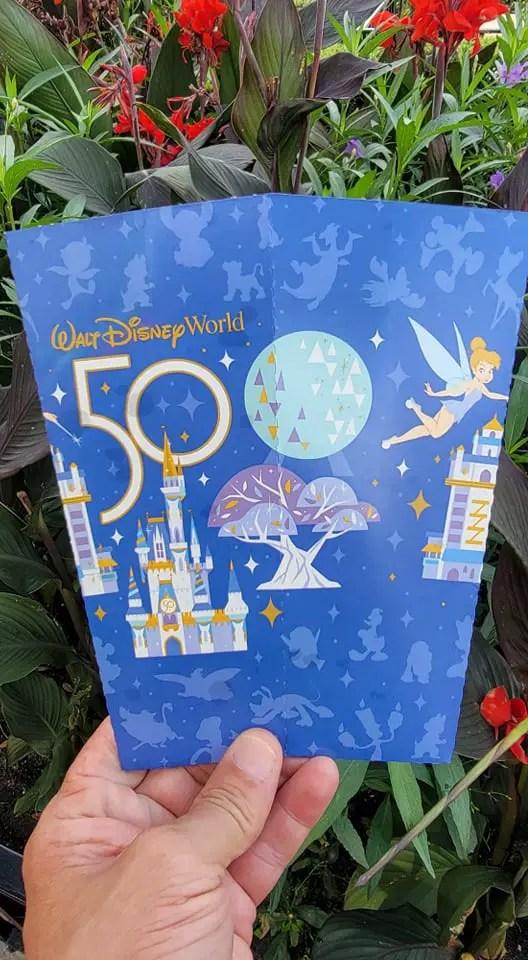 50th Anniversary Popcorn Box Debuts in the Magic Kingdom 6
